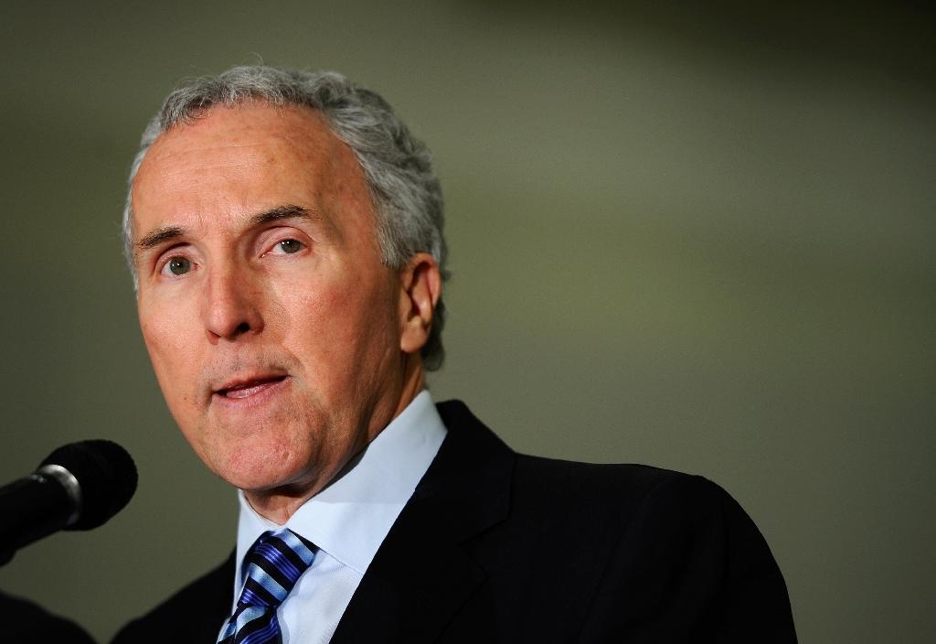 Frank McCourt, former owner of the Los Angeles Dodgers baseball team, has entered into exclusive discussions for the acquisition of Marseille football club (AFP Photo/Kevork Djansezian)