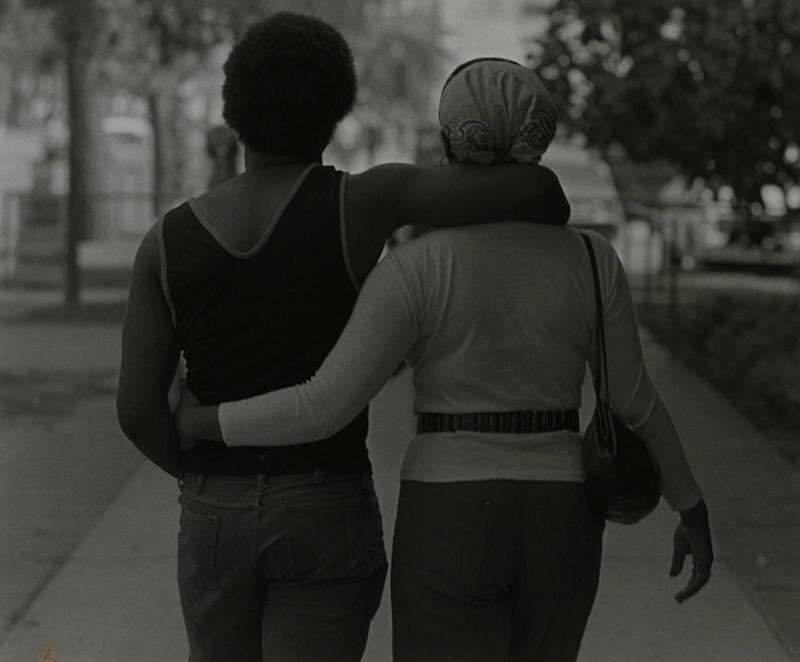 Couple Walking, 1972, Roy DeCarava (Courtesy of Sherry DeCarava and the DeCarava Archives)