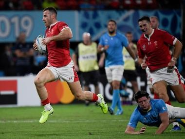 Rugby World Cup 2019: Wales edge past Uruguay to set up quarter-final against rivals France