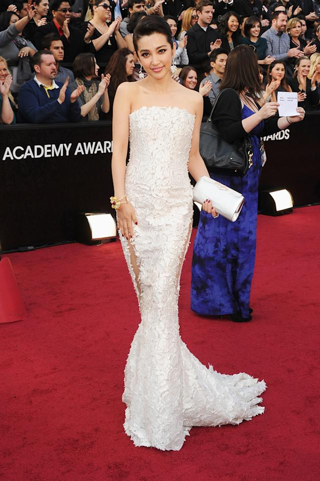 Bingbing Li arrives at the 84th Annual Academy Awards in Hollywood, CA.