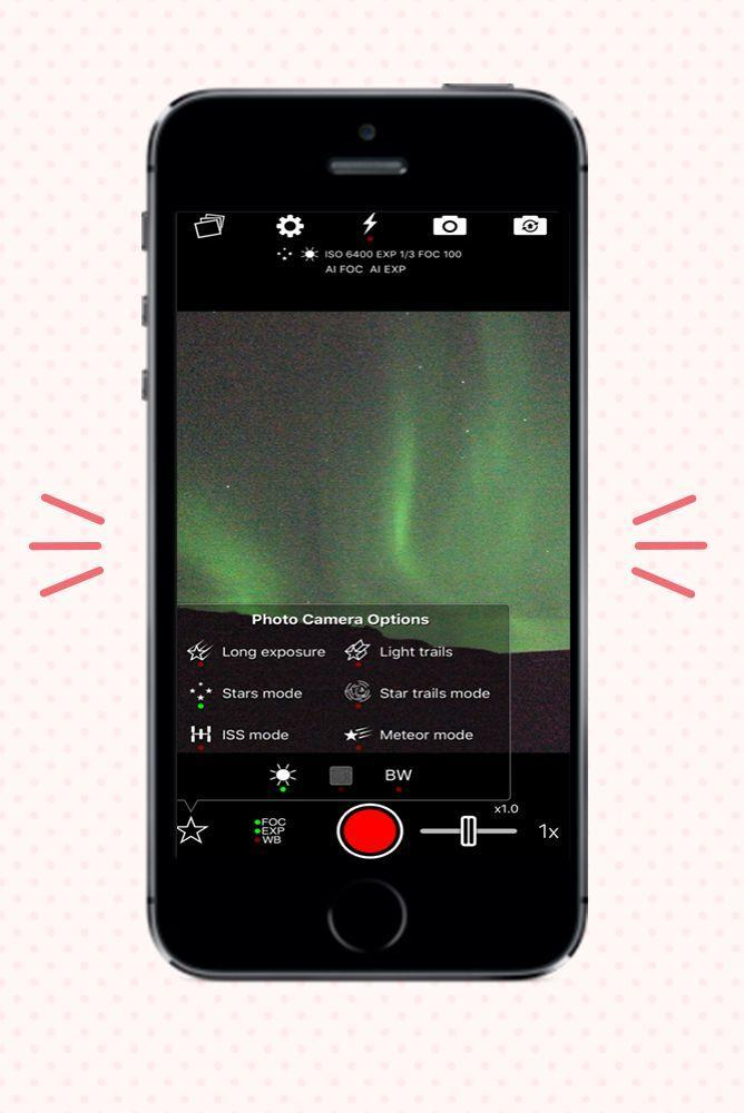 """<p>Preserve your stargazing memories with this night photography app, which comes with dedicated astrophotography camera modes for stars, star trails, meteors and one specifically designed to take epic photos of the International Space Station and other satellites arcing across the sky.</p><p><strong>Cost: </strong>$2.99 on <a href=""""https://apps.apple.com/us/app/nightcap-camera/id754105884"""" rel=""""nofollow noopener"""" target=""""_blank"""" data-ylk=""""slk:iOS"""" class=""""link rapid-noclick-resp"""">iOS</a></p>"""