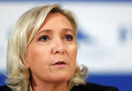 France's Le Pen faces trial over Twitter images of Islamic State atrocities