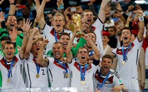 <span>Germany lift the trophy in 2014 - who will it be this year?</span> <span>Credit: Getty Images </span>