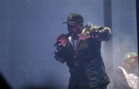 Big Boi of Outkast performs at the Coachella Valley Music and Arts Festival in Indio