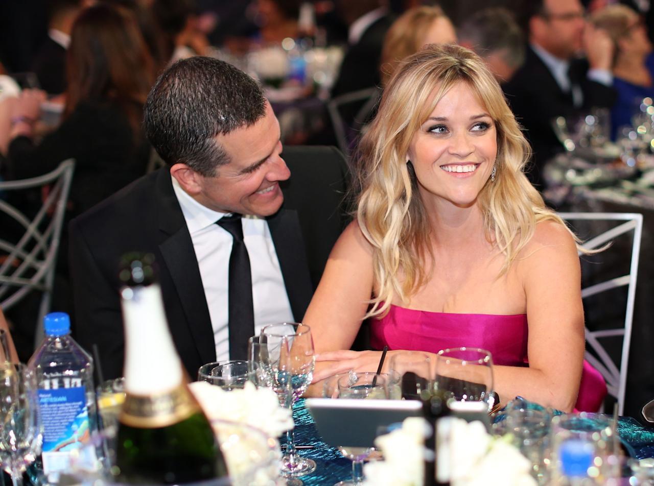 """<p>Some couples have meet-cutes and others, including Reese Witherspoon and husband Jim Toth, <a href=""""https://www.womenshealthmag.com/relationships/a26361094/is-love-at-first-sight-real/"""" target=""""_blank"""">fall in love</a> after one person saves the other from getting hit on by a rude, drunk stranger at a party. </p><p>No, seriously. As the<em> Big Little Lies</em> actress braved this rando's slurred yelling and fingers waving in her face, Reese told <em><a href=""""https://www.elle.com/culture/celebrities/g2801/reese-witherspoon-unbound-612491/"""" target=""""_blank"""">Elle</a></em>, """"Jim came over and said, 'Please excuse my friend. He's just broken up with someone.' Jim was a really good friend, pulling him out of that situation. That's just kind of who he is-a really good person.""""</p><p>The rest was, as they say, history. After dating for about a year (starting a few months after <a href=""""https://www.womenshealthmag.com/life/a19996310/reese-witherspoon-abusive-relationship/"""" target=""""_blank"""">her split</a> from Jake Gyllenhaal), Reese married Jim, a talent agent (who doesn't rep her) in 2011. A year later, she became a mama of three when she gave birth to the couple's son, Tennessee. (She was already mom to Ava and Deacon from her previous marriage to Ryan Philippe.)</p><p>These days, Reese is very vocal on <a href=""""https://www.instagram.com/p/BSHVsUkBT7A/?utm"""" target=""""_blank"""">Instagram</a> about her love for her husband, calling him """"wonderful"""" and posting about how he makes her laugh and supports her every move. </p><p>And while that's sweet AF, you and I both know that social media's not the <em>most </em>reliable source to learn what's going on IRL-so <a href=""""https://drjanegreer.com/"""" target=""""_blank"""">Jane Greer</a>, PhD, a relationship expert and author of <a href=""""https://www.amazon.com/gp/product/1402242972/ref=as_li_qf_sp_asin_il_tl?ie=UTF8&camp=1789&creative=9325&linkCode=as2&creativeASIN=1402242972&linkId=3a12ab9b5093b752ed058c76b03c4fb5&tag=womenshealth-auto-20&asc"""