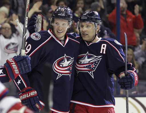 Johansen's 2 goals push CBJ past Capitals, 5-2