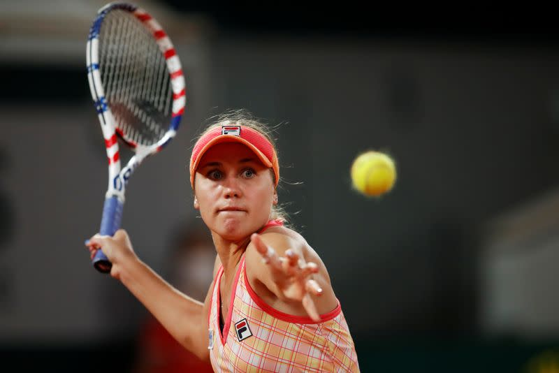 Kenin recovers from sluggish start to reach French open last eight