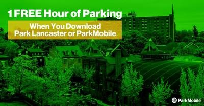 New users of the ParkMobile or Park Lancaster app will get 1 hour of free parking in July when they use the promotional code
