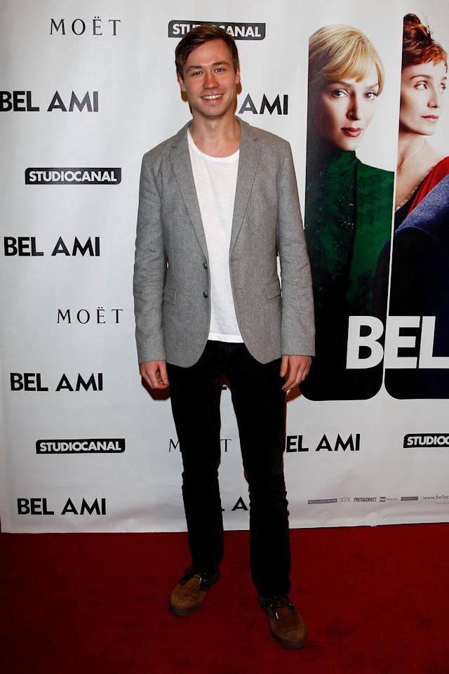 """BERLIN, GERMANY - FEBRUARY 17:  David Kross attends the """"Bel Ami"""" Party during day nine of the 62nd Berlinale International Film Festival at Meistersaal on February 17, 2012 in Berlin, Germany.  (Photo by Andreas Rentz/Getty Images)"""