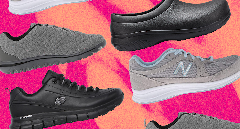 The 8 best work shoes for people with active jobs (Photos: Zappos)