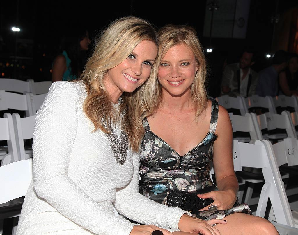 """Do blondes have more fun? Just ask actresses Bonnie Somerville and Amy Smart! Angela Weiss/<a href=""""http://www.wireimage.com"""" target=""""new"""">WireImage.com</a> - September 29, 2010"""