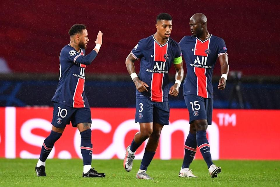 PSG celebrate equaliserAFP via Getty Images