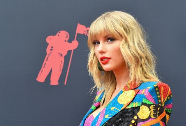 US singer-songwriter Taylor Swift was due to sing two songs from her latest hit album 'Lover' at the Melbourne Cup (AFP Photo/Johannes EISELE)