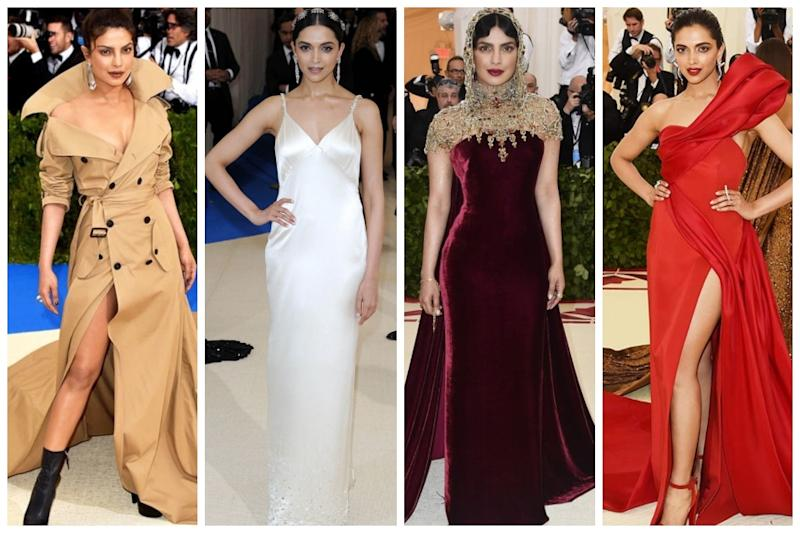 Met Gala: Throwback to Priyanka Chopra & Deepika Padukone's Ravishing Red Carpet Look