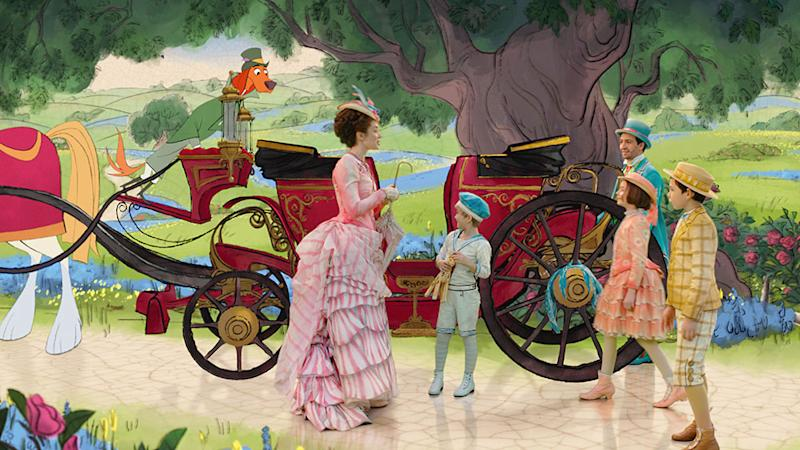 Mary Poppins Returns' Revives 2D Animation