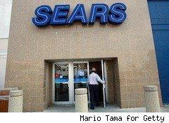Sears exterior - Black Friday Now sales