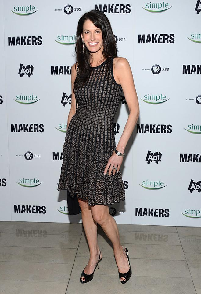 "Nancy Armstrong arrives at ""MAKERS: Women Who Make America"" New York Premiere at Alice Tully Hall on February 6, 2013 in New York City."