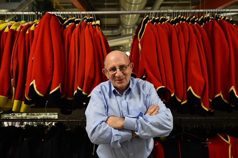 Tim Angel's London-based firm boasts the world's largest privately-owned collection of costume for film, theatre and television (AFP Photo/Ben Stansall)