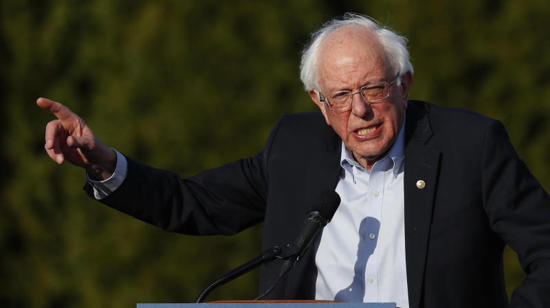 Bernie Sanders Accuses Liberal Think Tank Of Trying To Stymie His 2020 Campaign
