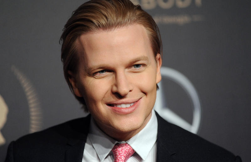 "FILE - In this May 18, 2019, file photo, Peabody Awards host Ronan Farrow attends the 78th annual Peabody Awards red carpet at Cipriani Wall Street in New York. Farrow is on a publicity tour for his book, ""Catch and Kill,"" in which he outlines his view of roadblocks NBC News set up that led him to take his Harvey Weinstein story to the New Yorker.  (Photo by Brad Barket/Invision/AP, File)"