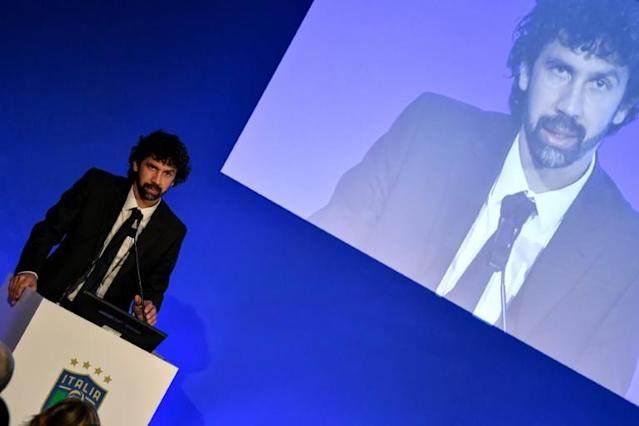 Italian Players' Union chief Damiano Tommasi has blasted proposed cuts in salaries (AFP Photo/Andreas SOLARO)