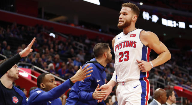 Aside from being an NBA star, Blake Griffin is also an accomplished comedian. (Raj Mehta-USA TODAY Sports)