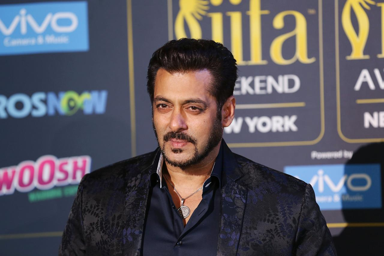 """<p>No. 9: Salman Khan<br />Past year's earnings: $37 million<br />Khan starred in the second-highest-grossing Bollywood film of 2016, <em><a rel=""""nofollow"""">Sultan</a></em>. He's appeared in over 85 movies since his career took off in 1989, and continues to earn top-dollar, despite recent <a rel=""""nofollow"""">criminal allegations</a>.<br /> (Reuters) </p>"""