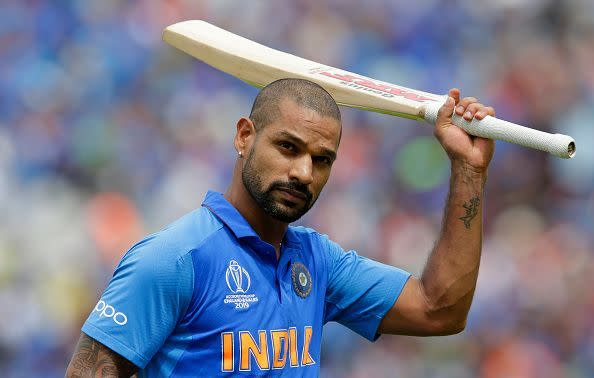 Shikhar Dhawan will not be available for the T20I series against New Zealand due to a shoulder injury.