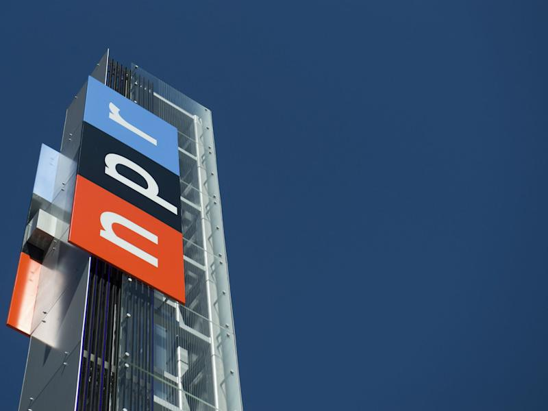The headquarters for NPR are seen in Washington, DC: SAUL LOEB/AFP/Getty Images