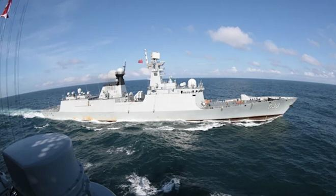 The PLA did not say exactly where or when the drill took place. Photo: Navy.81.cn