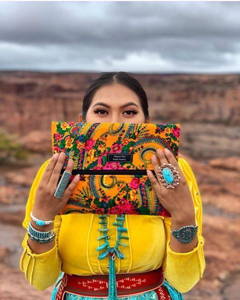 "<p>Turn to this Indigenous-owned and operated brand for handmade makeup bags (which you'll love so much, you'll want to wear them as handbags) as well as beautiful skirts, and jewelry. Creator <a href=""https://winstonpaul.co/about-us"" rel=""nofollow noopener"" target=""_blank"" data-ylk=""slk:Calandra Etsitty, who is Diné"" class=""link rapid-noclick-resp"">Calandra Etsitty, who is Diné</a>, combines traditional and contemporary elements in the stunning designs.</p><p><a class=""link rapid-noclick-resp"" href=""https://winstonpaul.co/shop"" rel=""nofollow noopener"" target=""_blank"" data-ylk=""slk:SHOP NOW"">SHOP NOW</a></p><p><a href=""https://www.instagram.com/p/B9nC8IyFq0y/?utm_source=ig_embed&utm_campaign=loading"" rel=""nofollow noopener"" target=""_blank"" data-ylk=""slk:See the original post on Instagram"" class=""link rapid-noclick-resp"">See the original post on Instagram</a></p>"