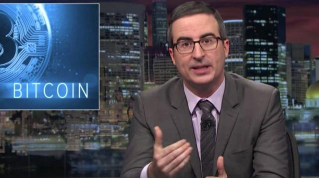 Don't Spend A Cent On Bitcoin Until You See John Oliver's Cryptocurrency Warning