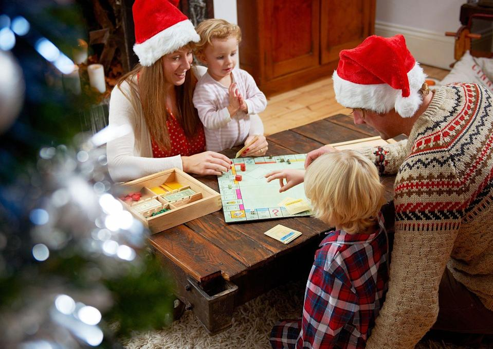"<p>Family game night is always a good idea and it will be even more special when you play under the twinkling lights of your tree.</p><p><a class=""link rapid-noclick-resp"" href=""https://www.amazon.com/Monopoly-Ultimate-Banking-Board-Game/dp/B01ALHAMTK/?tag=syn-yahoo-20&ascsubtag=%5Bartid%7C10063.g.34864266%5Bsrc%7Cyahoo-us"" rel=""nofollow noopener"" target=""_blank"" data-ylk=""slk:SHOP BOARD GAMES"">SHOP BOARD GAMES</a></p>"