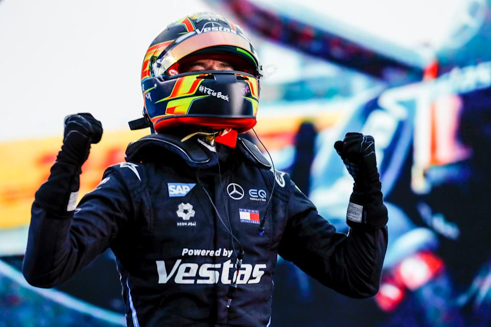 Mercedes go into the new season in January off the back of Vandoorne's victory in BerlinGetty