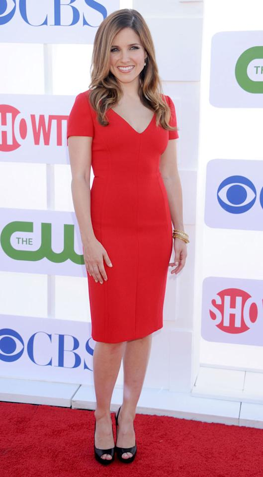 "Sophia Bush (""Partners"") arrives at the CBS, Showtime, and The CW Summer 2012 Press Tour Party on July 29, 2012 in Beverly Hills, California."