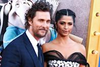 (FILE) Matthew and Camila Alves McConaughey Donate 80,000 Masks to Coronavirus COVID-19 Frontline Heroes. The McConaughey's personally delivered masks to police and fire stations in Austin, Texas on Thursday, and frontline heroes in New Orleans, Louisiana will receive theirs this week. LOS ANGELES, CALIFORNIA, USA - DECEMBER 03: Actor Matthew McConaughey and wife/model Camila Alves McConaughey arrive at the Los Angeles Premiere Of Universal Pictures' 'Sing' held at Microsoft Theater L.A. Live on December 3, 2016 in Los Angeles, California, United States. (Photo by Xavier Collin/Image Press Agency/Sipa USA)
