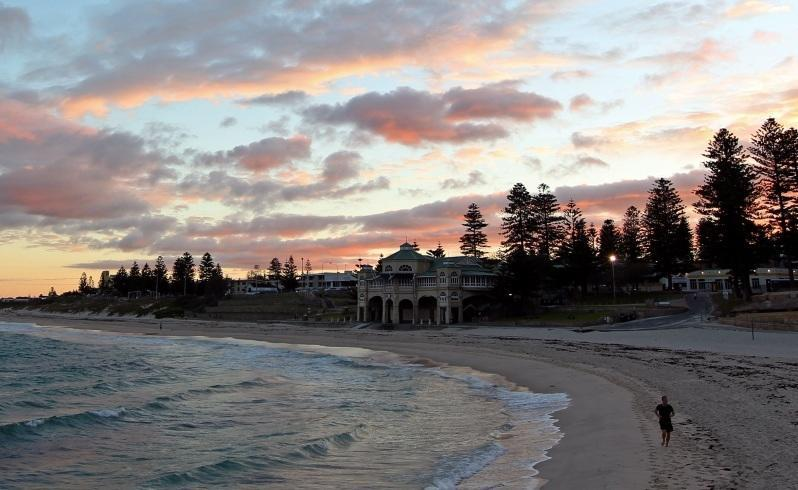 Fading riches: Cottesloe's richest suburb in WA title is at risk. Picture: Michael Wilson/The West Australian