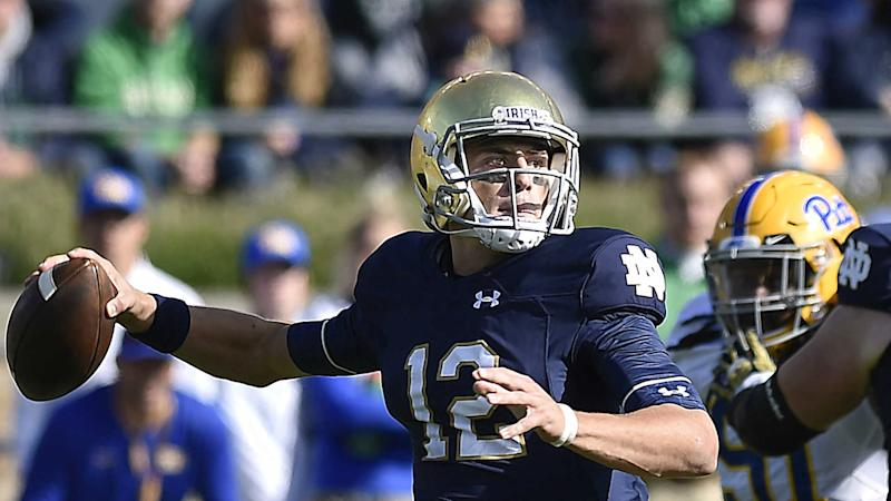 Notre Dame's ACC debut produces same old questions for Ian Book