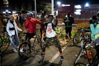 The cycling get-togethers are 'for fun, for creating a community and engaging with other like-minded people', says enthusiast Tiyiselane Mashele