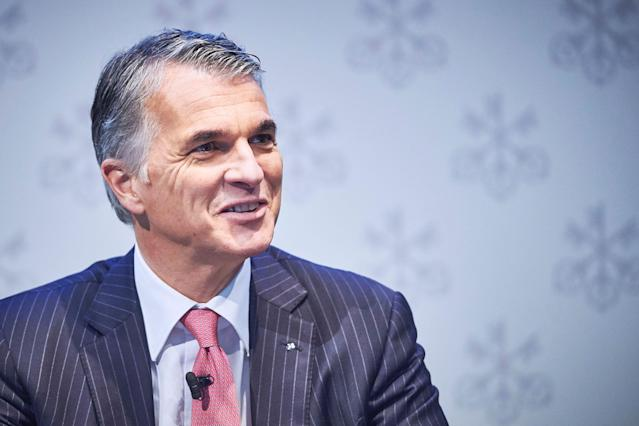 Sergio Ermotti, CEO of Swiss banking giant UBS. (Michael Buholzer/AFP via Getty Images)