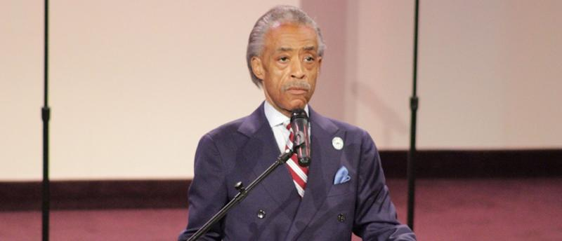 Sharpton Strikes Defiant Tone In Speech To Huge Crowd About Michael Brown Shooting