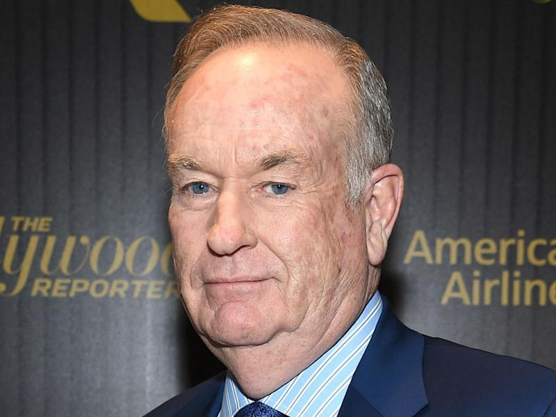 Bill O'Reilly attends The Hollywood Reporter's 5th Annual 35 Most Powerful People in New York Media on April 6, 2016 in New York City: Dimitrios Kambouris/Getty Images for Hollywood Reporter