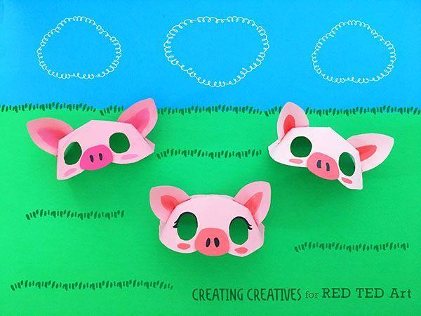 """<p>This precious pink paper plate pig mask is sure to leave everyone oinking with laughter. </p><p><strong><em>Get the tutorial at <a href=""""https://www.redtedart.com/paper-plate-pig-mask-template/"""" rel=""""nofollow noopener"""" target=""""_blank"""" data-ylk=""""slk:Red Ted Art"""" class=""""link rapid-noclick-resp"""">Red Ted Art</a>. </em></strong></p>"""