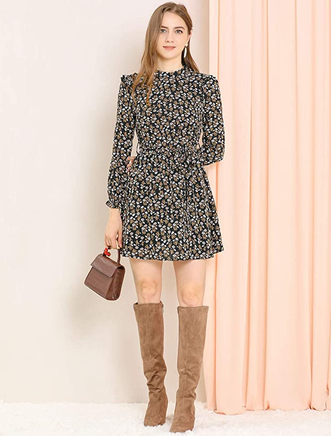 """<h2>Printed Mini Dresses</h2><br>Add some interest to an otherwise basic wardrobe with a mini dress that has big personality. <br><br><strong>allegra k</strong> Ruffled Trim Floral Dress, $, available at <a href=""""https://amzn.to/3lAdm5V"""" rel=""""nofollow noopener"""" target=""""_blank"""" data-ylk=""""slk:Amazon"""" class=""""link rapid-noclick-resp"""">Amazon</a>"""
