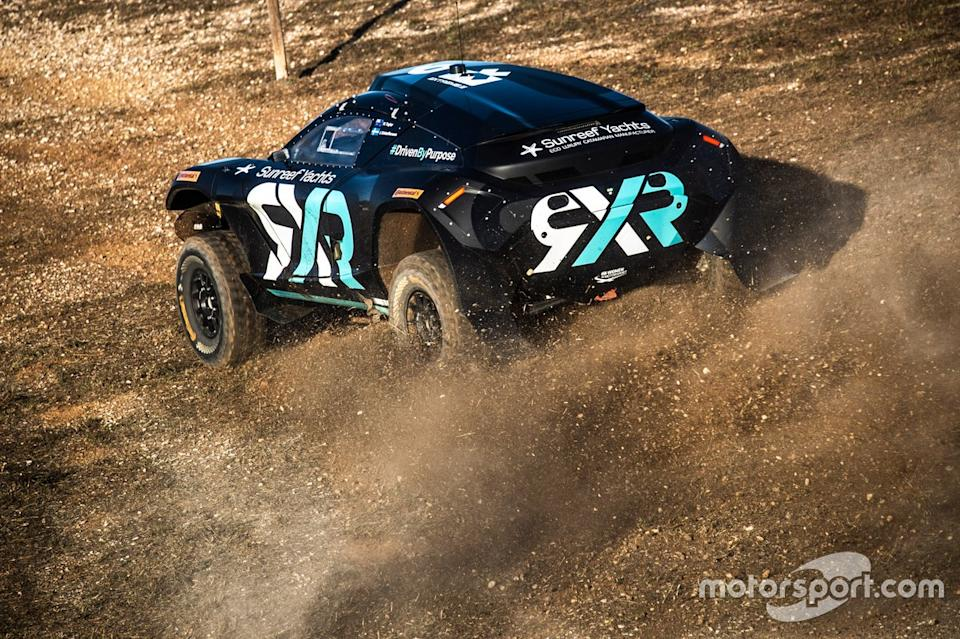 "Rosberg Xtreme Racing <span class=""copyright"">Extreme E</span>"
