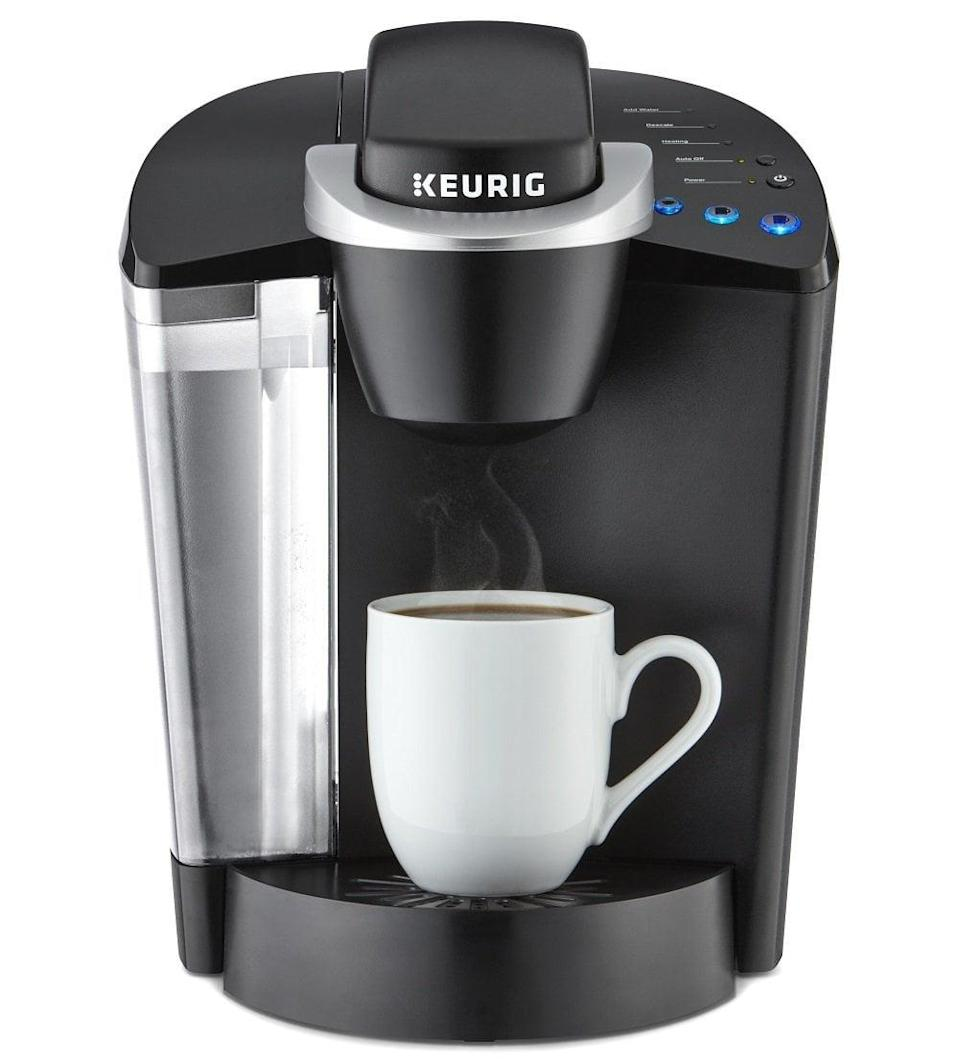 <p>Skip the long lines and get gourmet coffee in a flash with this <span>Keurig Single Serve Coffee Maker</span> ($79). Even though they'll get your coffee in an instant, it sure won't taste like the instant coffee mixes from supermarkets!</p>