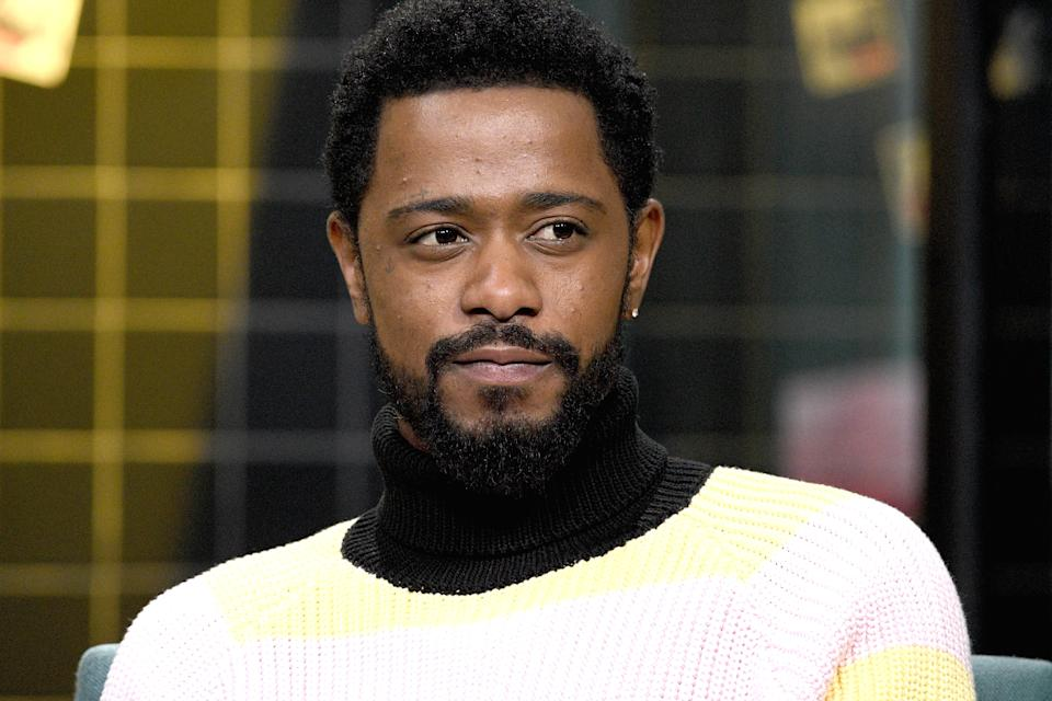 "NEW YORK, NEW YORK - FEBRUARY 10: Actor Lakeith Stanfield visits the Build Series to discuss the film ""The Photograph"" at Build Studio on February 10, 2020 in New York City. (Photo by Gary Gershoff/Getty Images)"