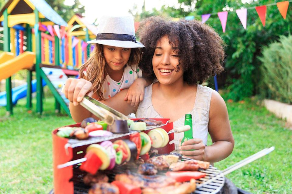 "<p>If your mom is less ""tea and crumpets"" and more ""beer and barbecue,"" fire up the grill and celebrate the leading lady in your life with a laid-back lawn party featuring our <a href=""https://www.countryliving.com/food-drinks/g31/best-grilling-recipes/"" rel=""nofollow noopener"" target=""_blank"" data-ylk=""slk:best grilling recipes"" class=""link rapid-noclick-resp"">best grilling recipes</a>. If you can't be together, coordinate with dad on dueling menus that you can enjoy ""together."" You can even go in on a group sibling gift with a <a href=""http://slickwoodys.com/collections/country-living-cornhole/products/patriotic-path-cornhole-board-set-includes-8-bags"" rel=""nofollow noopener"" target=""_blank"" data-ylk=""slk:backyard cornhole set"" class=""link rapid-noclick-resp"">backyard cornhole set</a>.</p>"