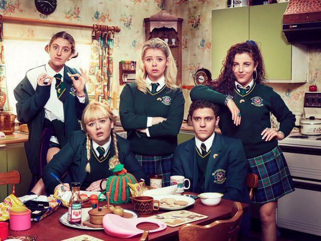The cast of Derry Girls (Photo: Channel 4)