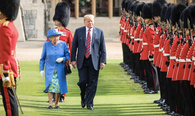 Donald Trump's state visit to the UK is set to be 'one of the easiest ever' (Getty)